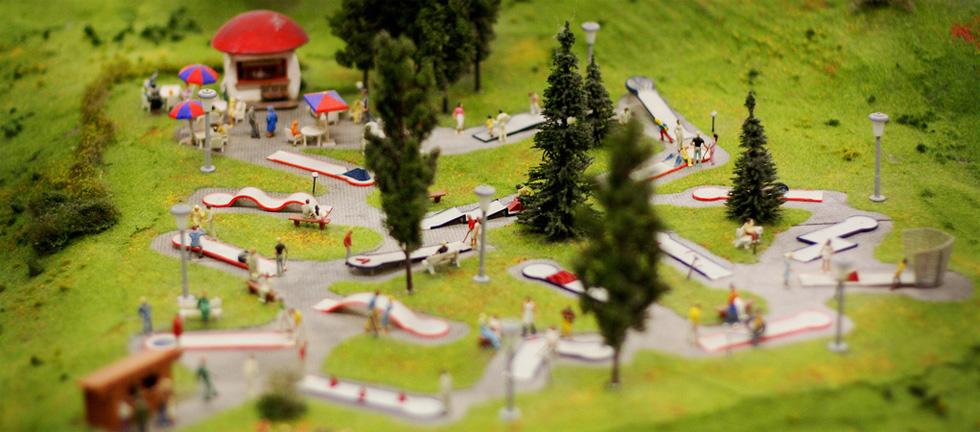 Kod razvoja društvenih aktivnosti u lokalnoj zajednici - razmislite o minigolfu.
