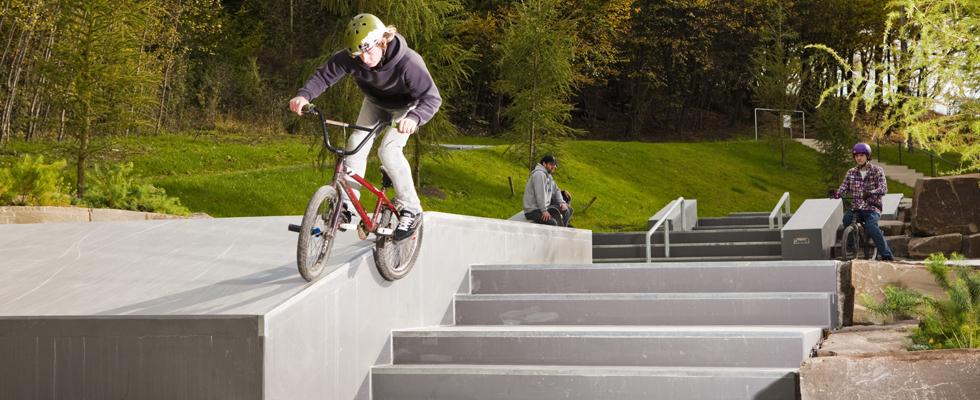Skate parkovi - izrađeni od betonskih elemenata